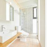 2階洗面脱衣・トイレ&シャワールーム